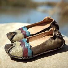 Бренд весна и осень лежа туфли на высоком каблуке круг - палец на ноге натуральная кожа квартиры обувь женщина(China (Mainland))