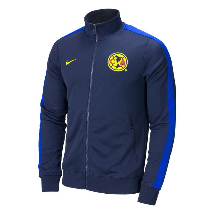 Nike Club America Authentic N98 Soccer Jacket - Obsidian