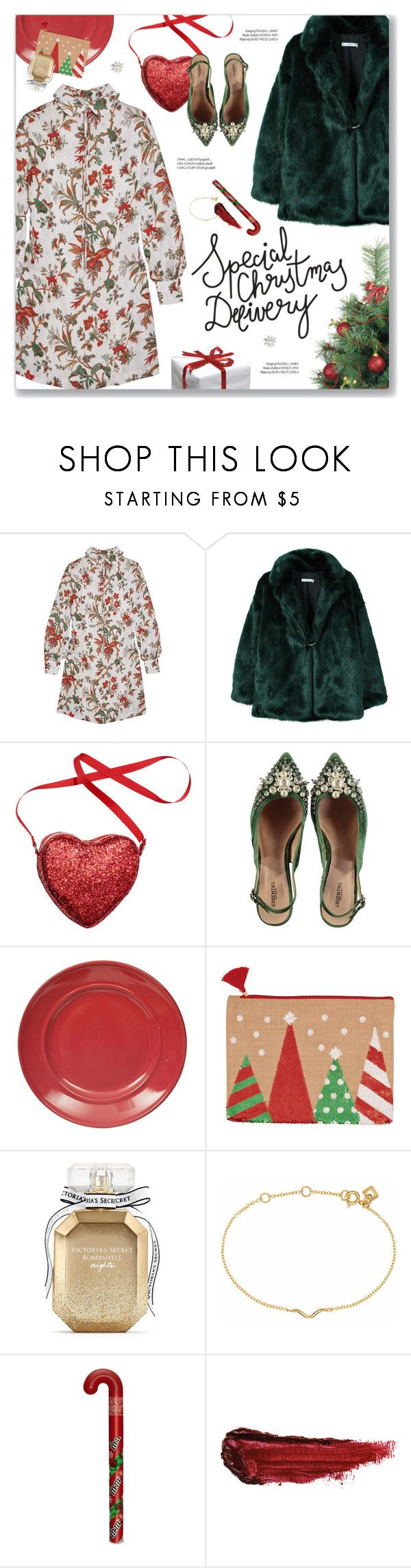 """""""#PolyPresents: Party Dresses"""" by blendasantos ❤ liked on Polyvore featuring McQ by Alexander McQueen, MANGO, xO Design, Victoria's Secret, Maya Magal, By Terry, contestentry and polyPresents"""