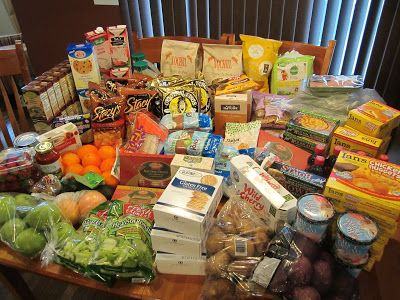 30 Days of Grocery Shopping, Feingold Style.   Don't be overwhelmed by my grocery bills! I have four kids with food allergies. Most of of us are GFCF (gluten and dairy free) and we very rarely eat out. But this will give you an idea of some of the foods that you can eat on the Feingold Diet.