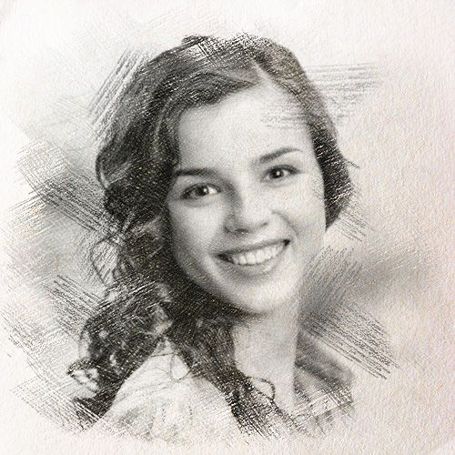 Use 'Graphic pencil sketch' photo effect to turn your picture into realistic pencil sketch online. An extremely easy way to convert photo into drawing.