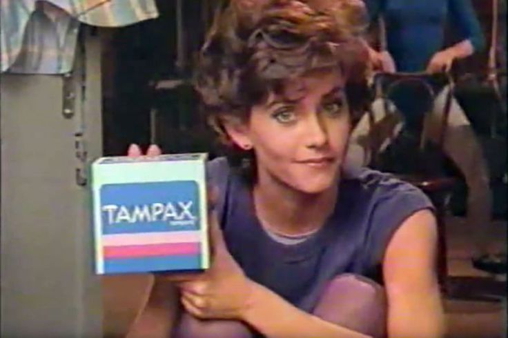First woman to use the word 'period' on TV