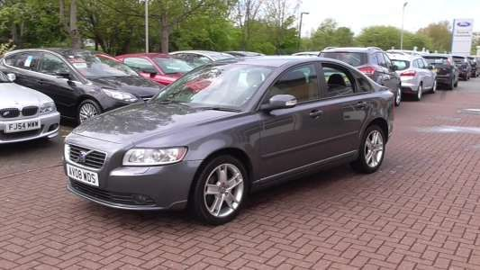 Used 2008 (08 reg) Grey Volvo S40 2.0D SE Lux 4dr for sale on RAC Cars