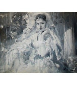 Princess Painting by Prithvi Soni