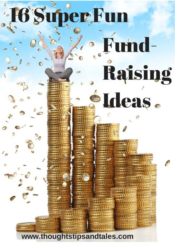 Sixteen Super Fun Fundraising Ideas if you need to raise money for a worthy cause.