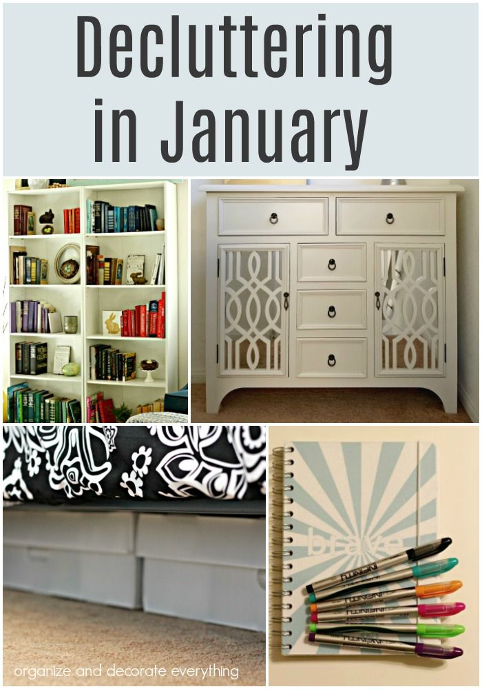 Decluttering In January Declutter Home Organization Kids Craft