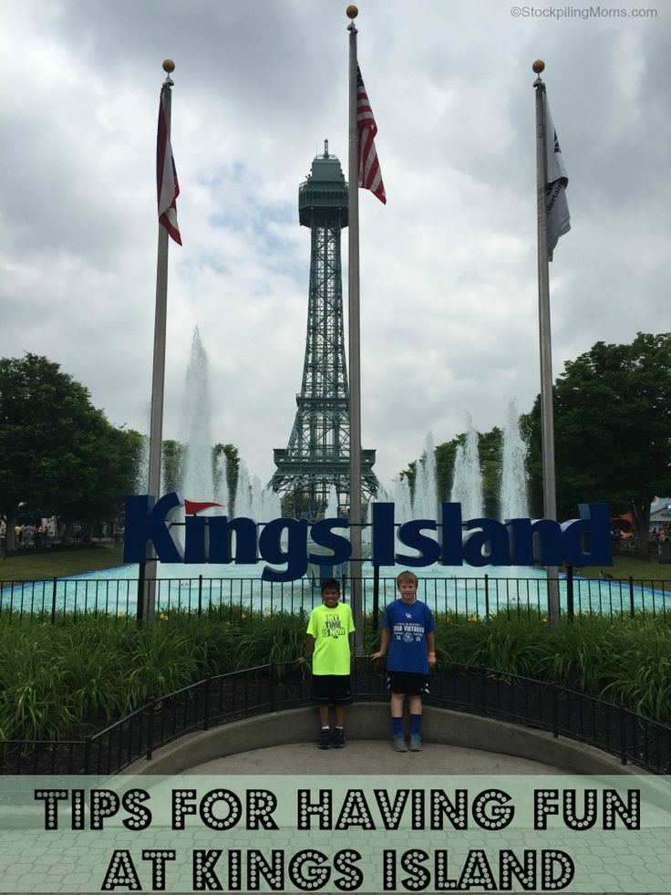 Tips for having fun at Kings Island