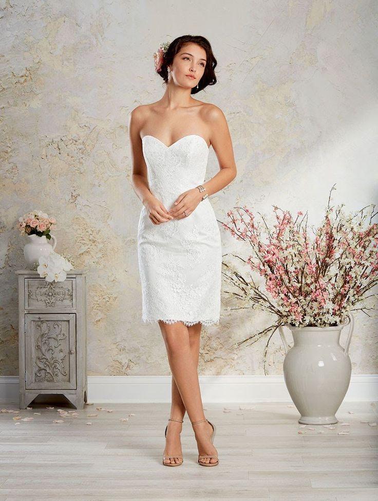 76 besten Wedding Dresses Bilder auf Pinterest | Hochzeitskleider ...