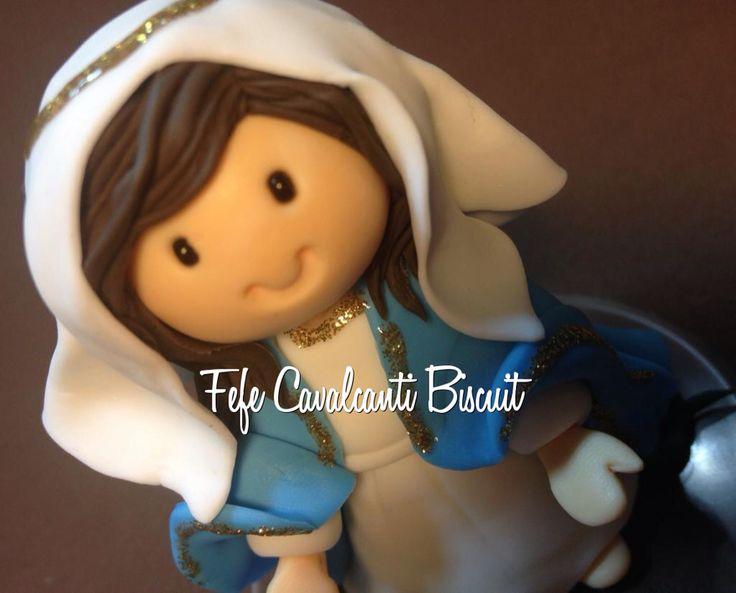 Nossa Senhora das Graças em Biscuit