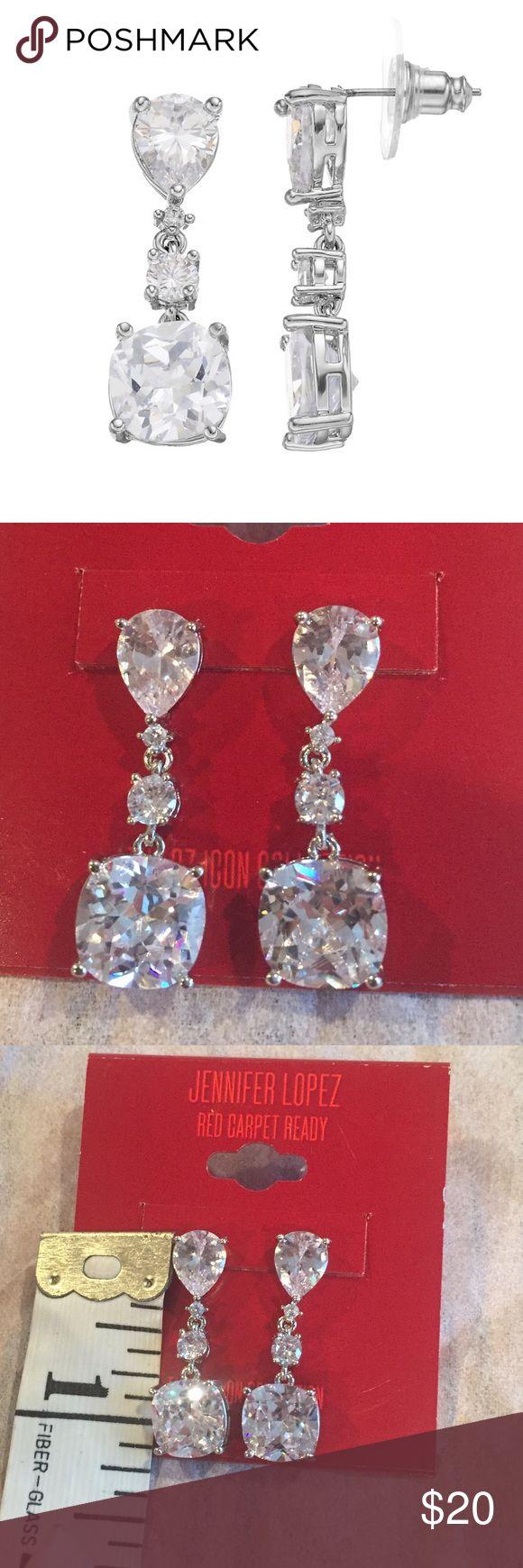 🆕 Jennifer Lopez Cubic Zirconia Dangle Earrings 🆕 Jennifer Lopez Cubic Zirconia Dangle Earrings. Description in 4th picture. Jennifer Lopez Jewelry Earrings