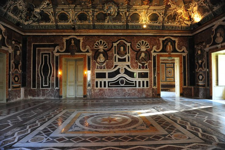 Bagheria (PA) Sicily - Villa Palagonia, Salone degli specchi | The Villa Palagonia is a patrician villa in Bagheria, 15 km from Palermo, in Sicily, southern Italy.    #TuscanyAgriturismoGiratola