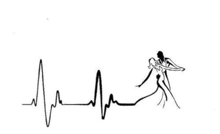 Meu eletrocardiograma... Love Dance!