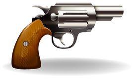 Rétro Pistolet De Mise à Feu De Bande Dessinée Image stock - Image ...