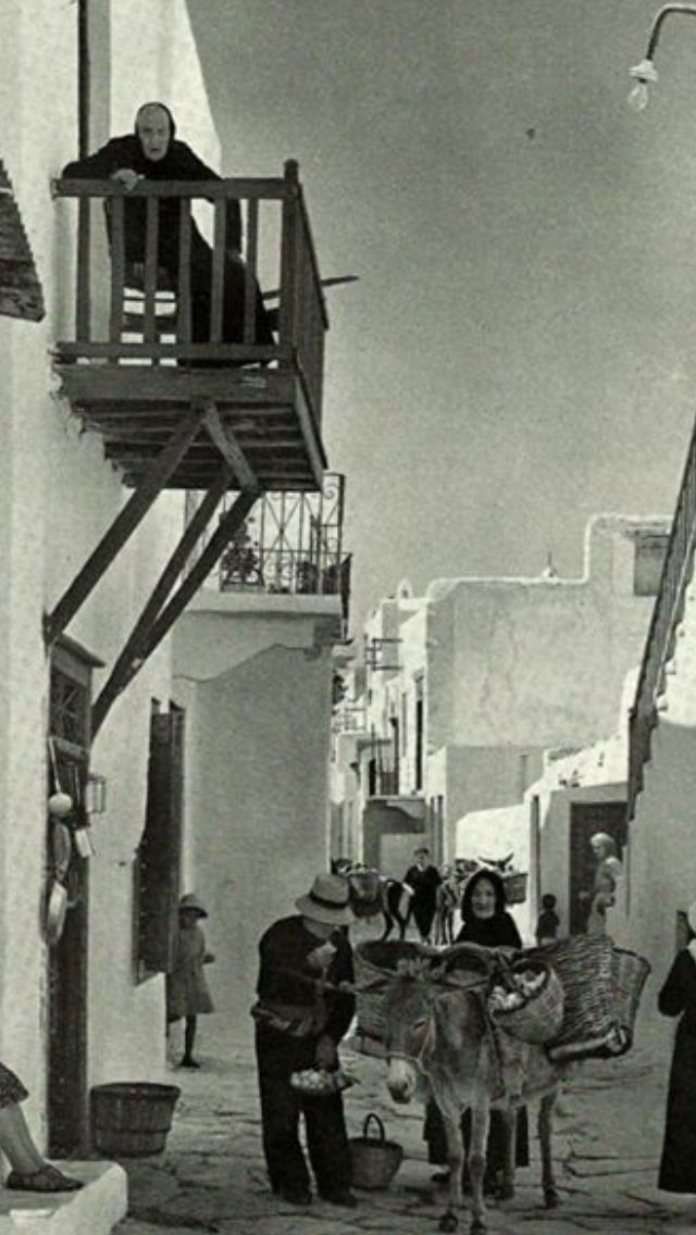Mykonos the Old way !