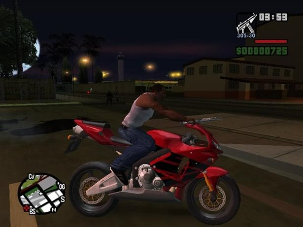 GTA: San Andreas (PS2).