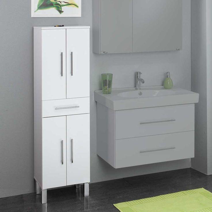 25+ ide terbaik Hochschrank weiß di Pinterest Hochschrank - badezimmer hochschrank 40 cm breit