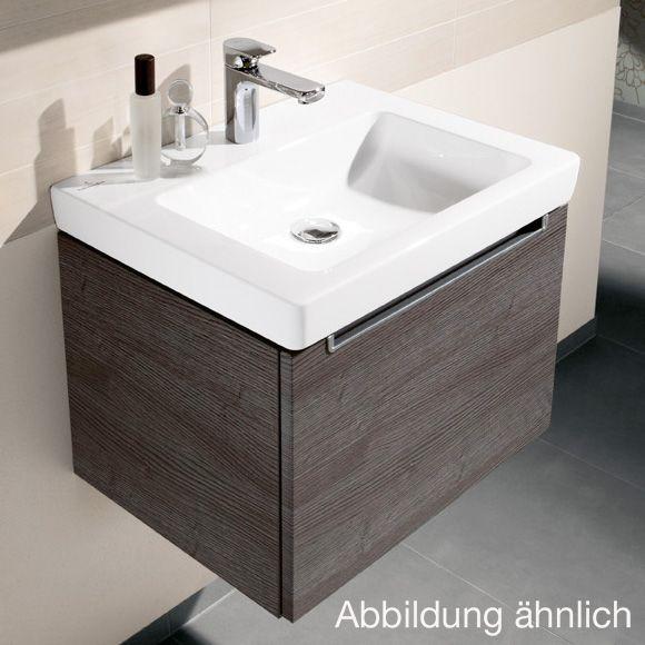 Villeroy Boch Subway 2 0 Waschtisch Weiss Mit Ceramicplus Mit 1 Hahnloch Ungeschliffen Mit Uberlauf Kleines Waschbecken Waschbecken Waschtisch