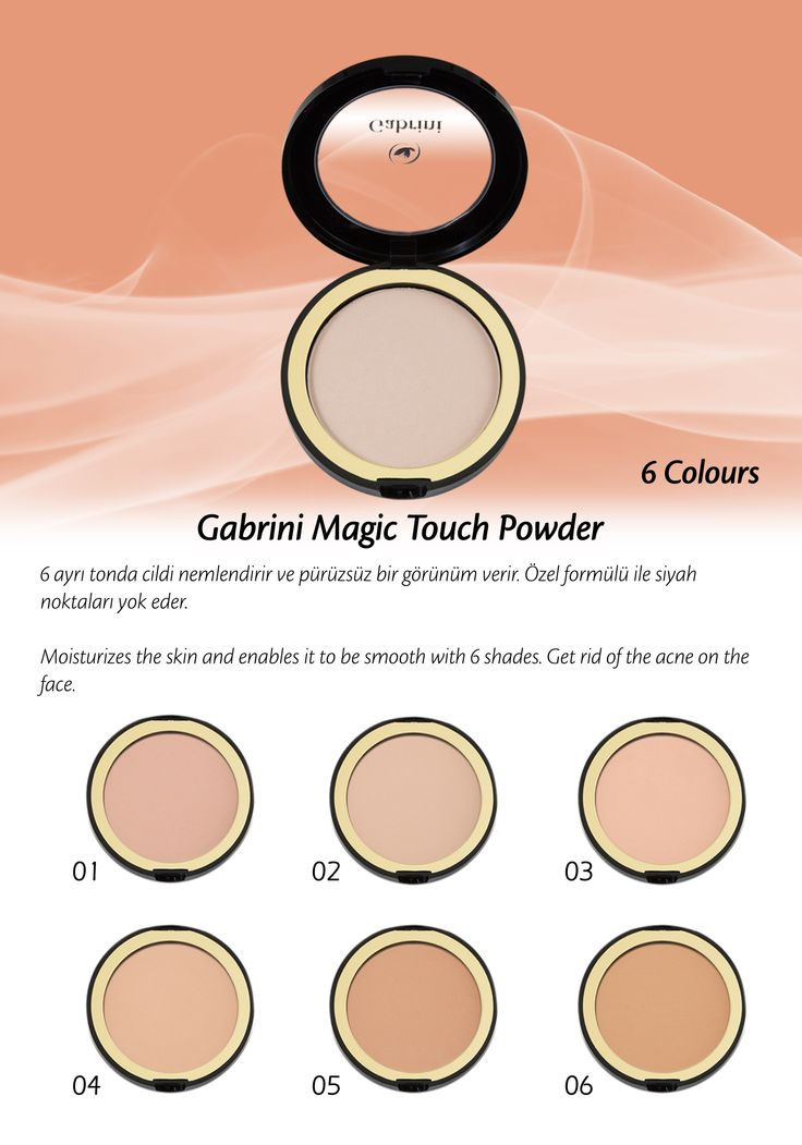 satin powder