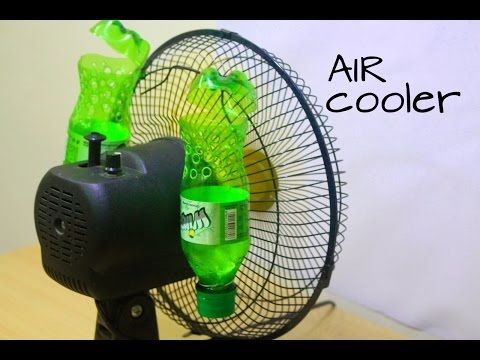 How to make Air Cooler at home using Plastic Bottle - Eco Cooler - YouTube