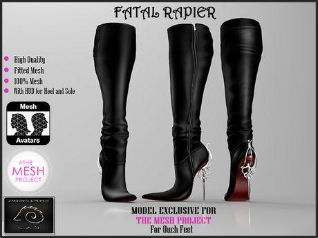[PL] - Fatal Rapier Black - for TheMeshProject
