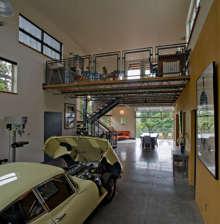 27 Best Images About One Car Garage Plans On Pinterest: 18 Best Steel Stairs Images On Pinterest