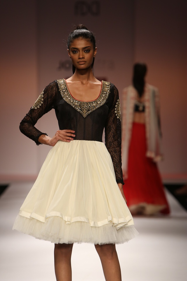 Scarlet Bindi - South Asian Fashion: Wills Lifestyle India Fashion Week Fall/Winter 2013: Day 3