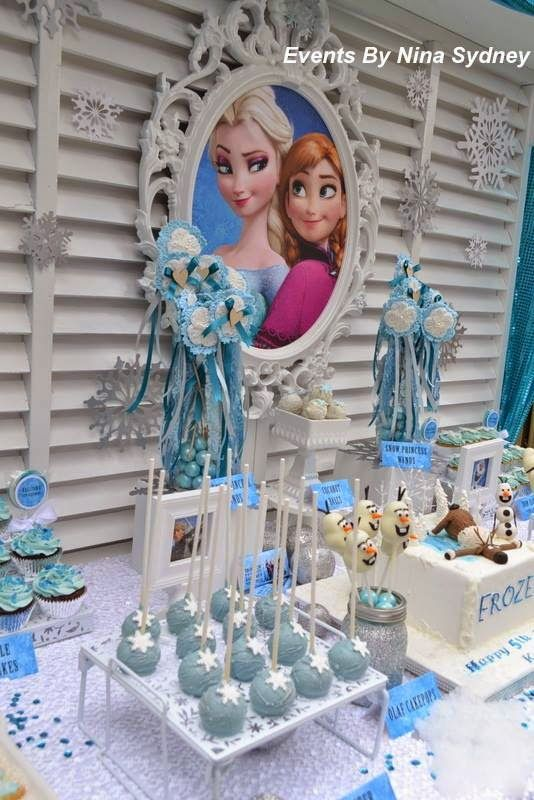 Party Inspirations: Frozen Princess Party by Events by Nina