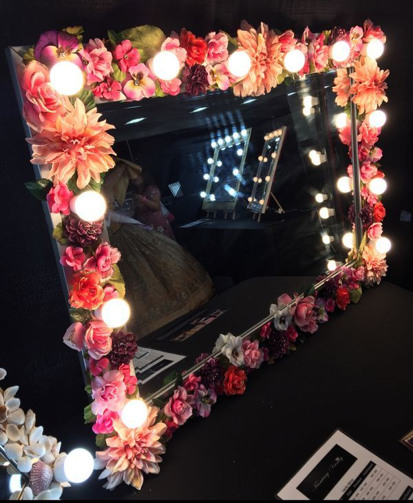 bdc19da20bb7 Floral led Custom Made Vanity Mirror  400 for Sale in New York
