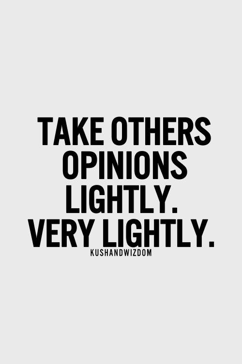 very lightly