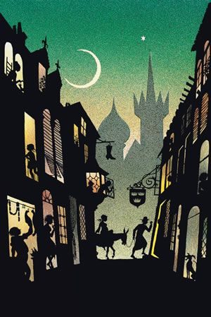 Jan Pienkowski- one of my favourite illustrated books- really atmospheric Christmas Story