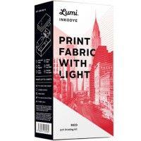   DIY pakket Inkodye 'Printen met zonlicht - rood'   @designfabrix    ook verkrijgbaar bij #WebshopsOnly #conceptstore   #Vughterstraat   #DenBosch