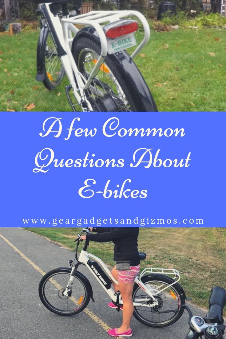 A Few Common Questions About E Bikes With Images Ebike This