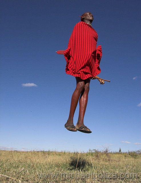 Masai jumping style
