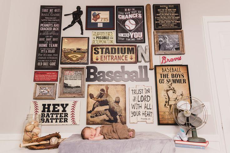 Vintage Baseball Nursery Design