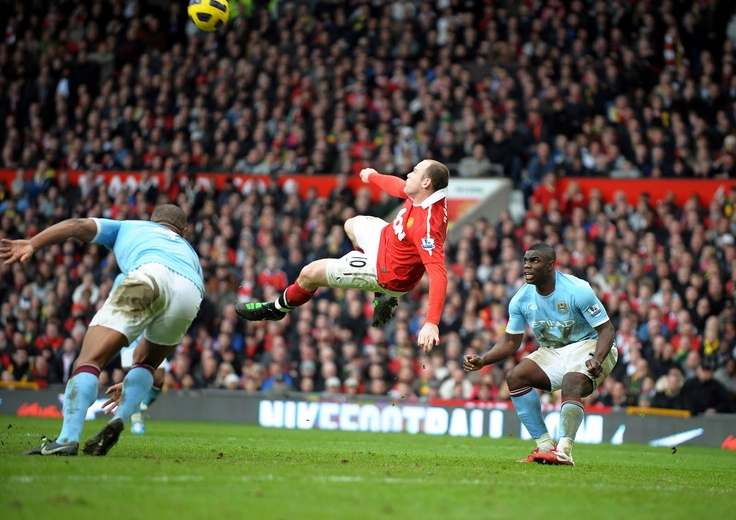 Wayne Rooney - Manchester United vs Manchester City
