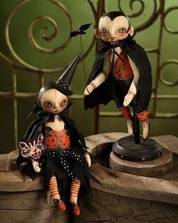 Halloween dolls by Robyn Seeber
