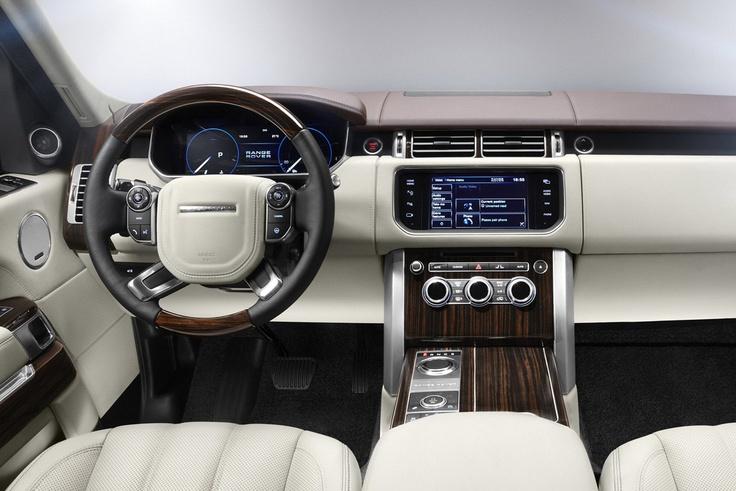 2013 Range Rover Dashboard Wallpaper - Wallpaper Ranger