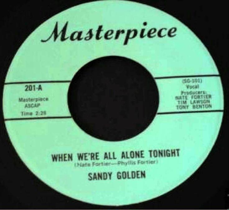 "Sandy Golden~""When We're All Alone Tonight""~Masterpiece"