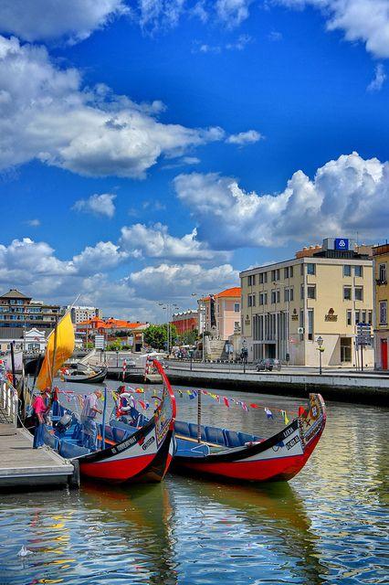 Aveiro. Portugal Portuguese Venice