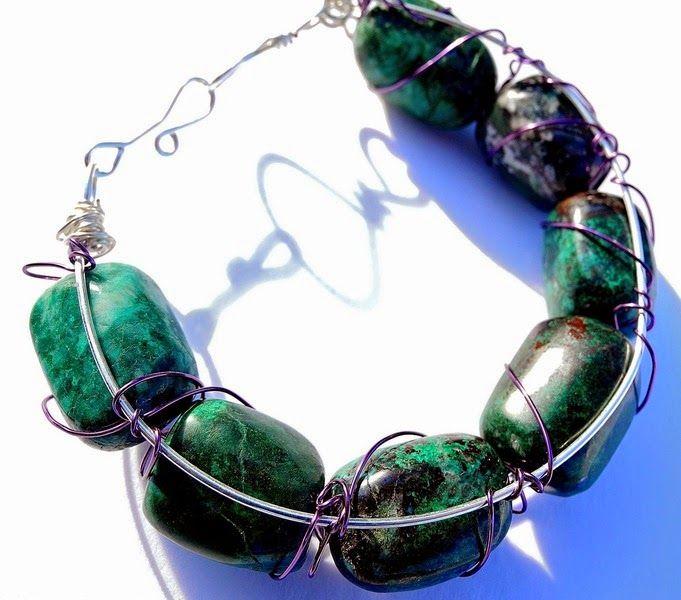 dreampaths Jewelry Designs - > FREEFORM WIRE WORK