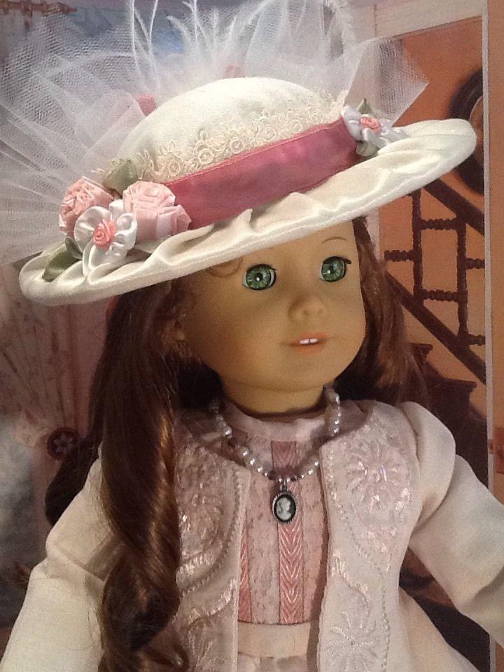 SPRING DERBY custom clothing fits American Girl Doll Felicity/Caroline/Elizabeth #ClothingShoes