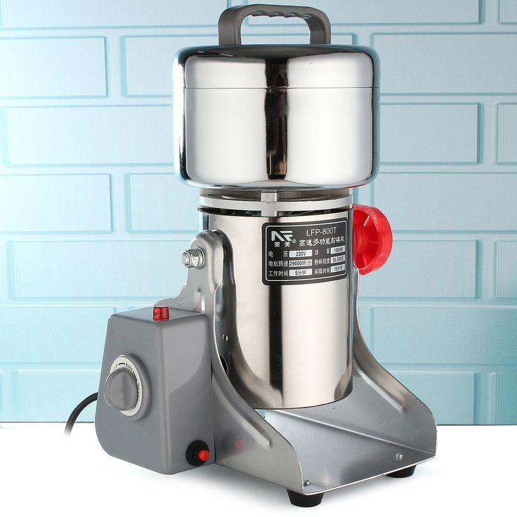 Doméstico Electric Galenical Herbal Feijão Alimentos Café Grinding Machine Grinder Miller Pulverizer