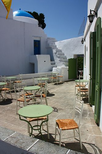 Sifnos cafe | Flickr - Photo Sharing!