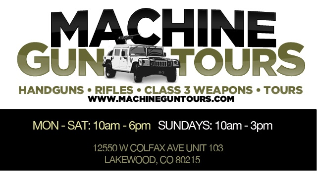 Handguns Denver | Shooting Range Denver | Machine Gun Tours