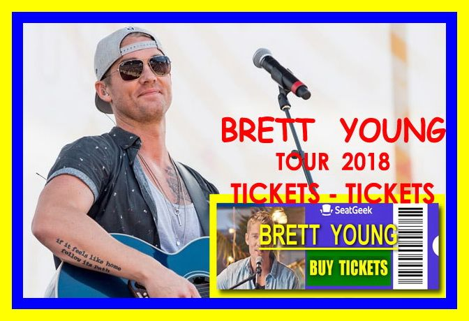 Brett Young - The easiest way to buy concert tickets (seller – SeatGeek). Tour 2018 - Tickets and Tour Schedule. Country Music Concert