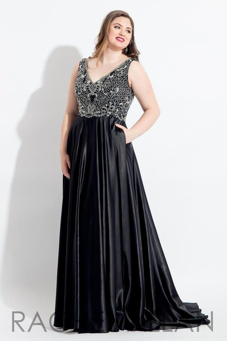 Rachel Allan Plus Size Prom 6329  Rachel ALLAN CURVES Roxanne's Runway, Green Bay WI, Prom Dresses WI, Homecoming Dresses WI, Pageant Dresses WI