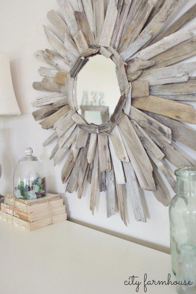 Voici 16 magnifiques réalisations faites de bois flotté pour une maison au look Shabby Chic! - Décoration - Des idées de décorations pour votre maison et le bureau - Trucs et Bricolages - Fallait y penser !