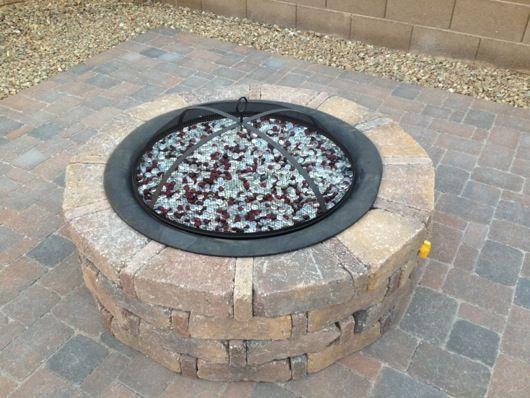 Diy Propane Fire Pit Backyard Ideas Pinterest Fire