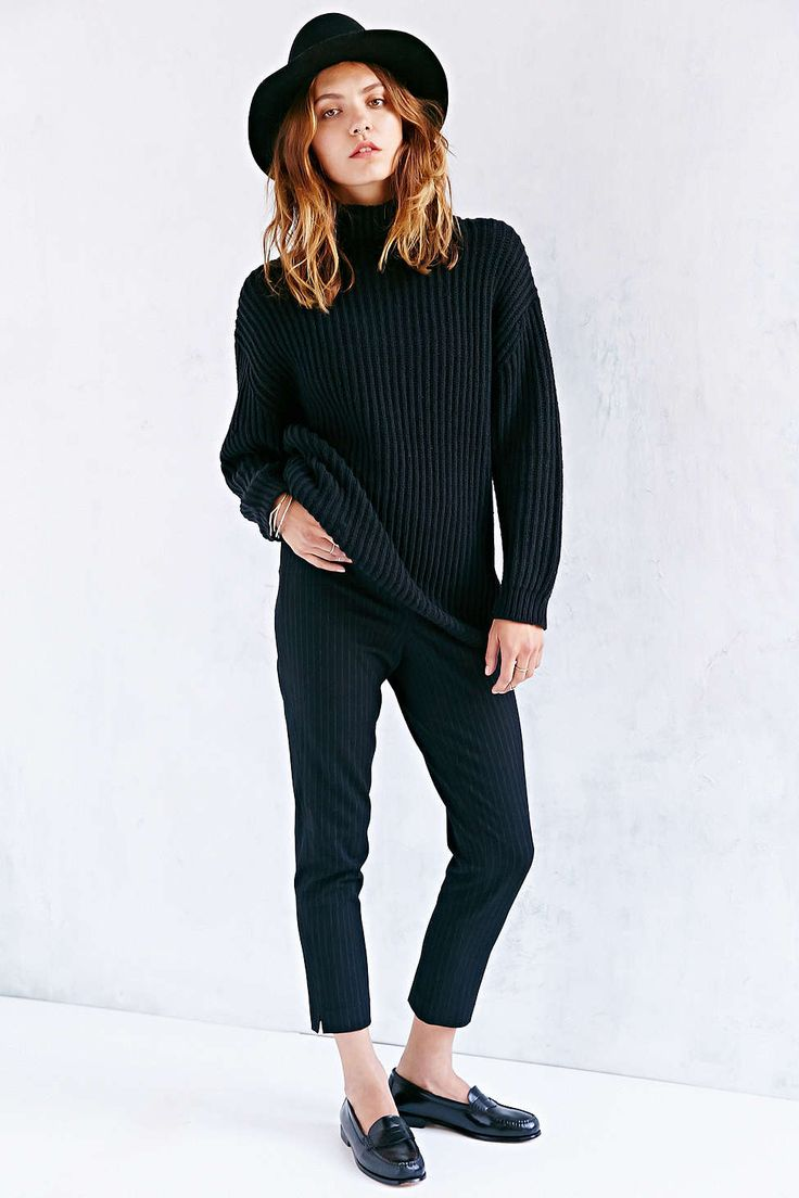 BDG Shaker Turtleneck Sweater | style