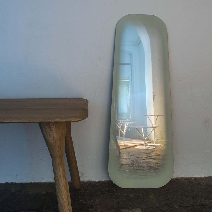 ENOstudio / Long Fading mirror by Thomas Eurlings